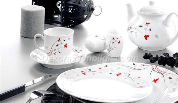 Kütahya Porselen Kahvaltı Setleri
