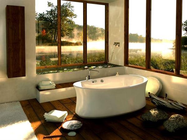 büyük banyo küvet modeli
