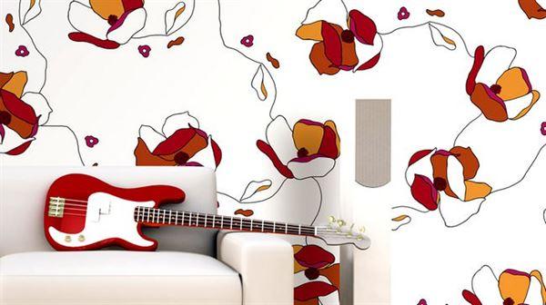 İlgi Çekici Dekoratif Duvar Kağıt Modelleri 5