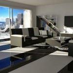 Modern Renkli Salon ve Oturma Odası Stilleri 7