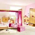 Şirin Kız Çocuk Odası Mobilya Modeli 8
