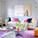 mor ve lila renkli oda renk dekorasyonları - lila rengi oda dekorasyon modeli 150x150 - Mor ve Lila Renkli Oda Renk Dekorasyonları