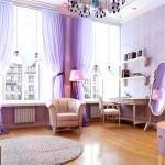 mor ve lila renkli oda renk dekorasyonları - lila rengi oda dekoru 150x150 - Mor ve Lila Renkli Oda Renk Dekorasyonları
