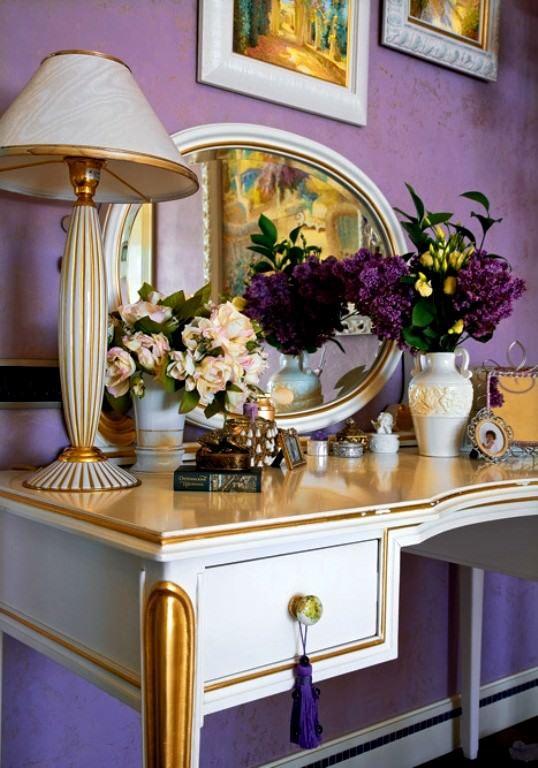 lila-renk-ic-dekorasyon