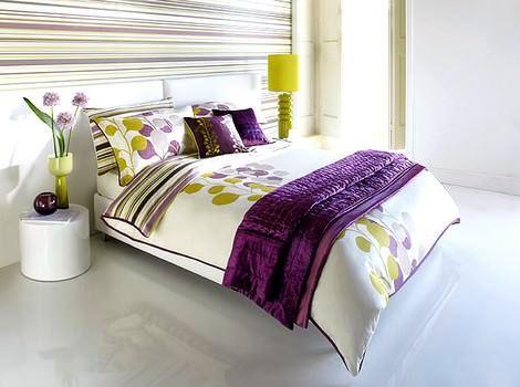 yatak odası örtü modelleri