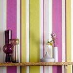 Çizgili Duvar Kağıdı Modelleri Ve Renkleri 1