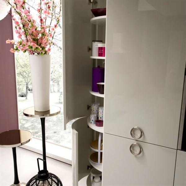 oval mutfak dolapları