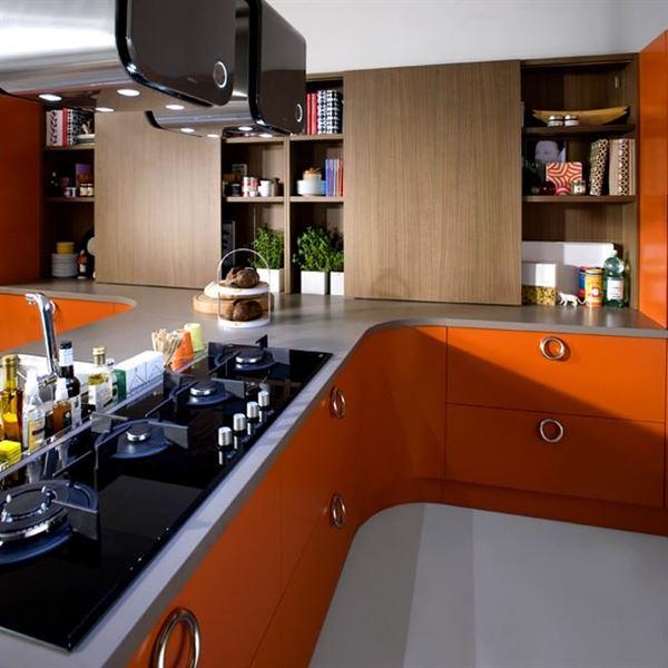 oval mutfak dekorasyon