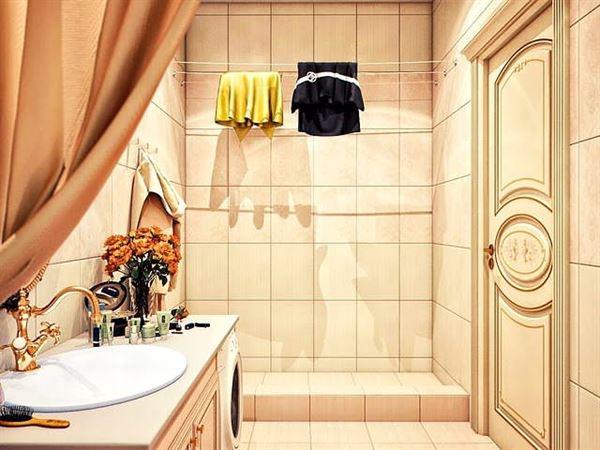 Ultra Lüks Dekorasyonlu Banyo Örnekleri 12