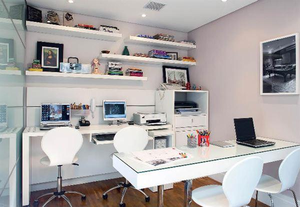 Ev Çalışma Odası Dekorasyon Fikirleri 5