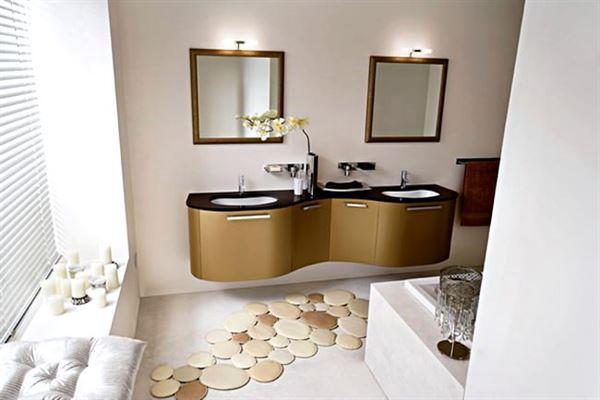 modern yenilikçi banyo dekorasyon stilleri - luks dekoratif banyo modeli - Modern Yenilikçi Banyo Dekorasyon Stilleri