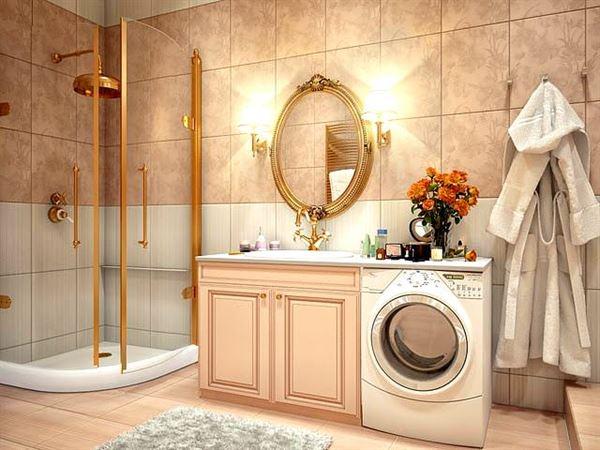 Ultra Lüks Dekorasyonlu Banyo Örnekleri 14