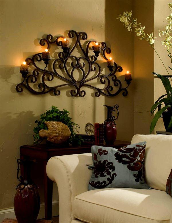 dekoratif aksesuar modelleri - luks duvar samdanlik - Dekoratif Aksesuar Modelleri