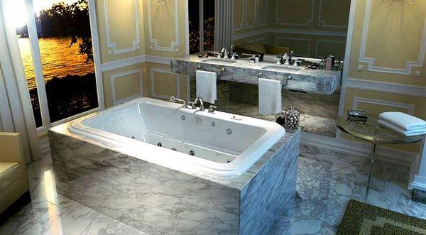 Modern Banyo Küvet Tasarımı 6