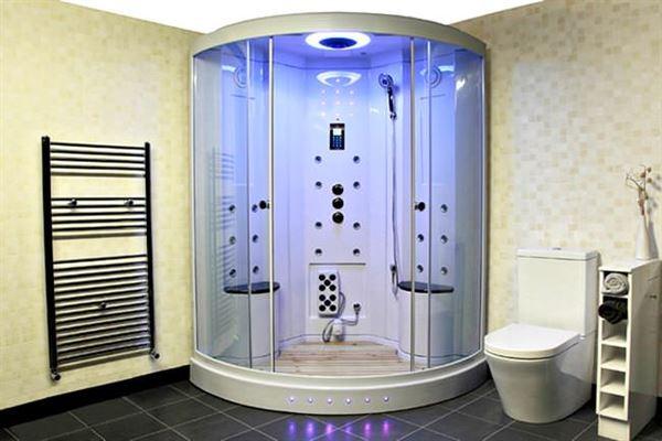 Buharlı Modern Duşa Kabin Modelleri 3
