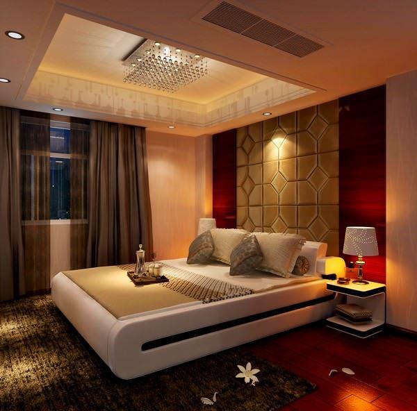 Ultra Suit Tarzı Yatak Odası Dekorasyonları 5