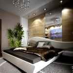 Modern Lüks Yeni Stil Yatak Odası Dekorasyonları