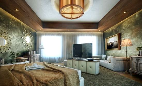 luxury-bedrrom-design duvar süslemeleri - luxury bedrrom design - Yatak Odası Duvar Süslemeleri