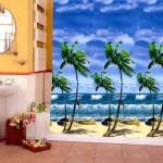 banyo-dus-perde-modelleri duş perdesi - manzarali dus perdesi 150x150 - Renkli Desenli Banyo Perde Modelleri