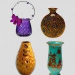 dekoratif cam ve porselen vazo modelleri
