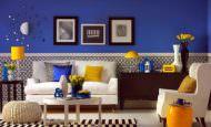 Mavi renklerle oda renkleri