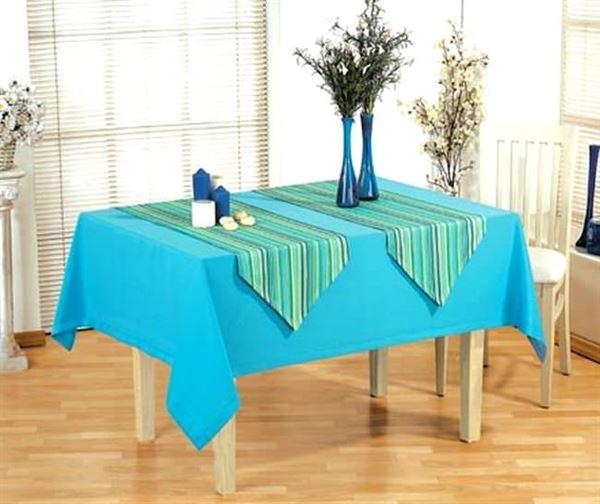 Kumaş Yemek Masa Örtüsü Modelleri 5