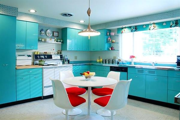mavi-mutfak-dekorasyonu