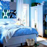 mavi yatak odası dizaynı mavi renk yatak odası dekorasyon fikirleri - mavi yatak odasi dekorasyon12 150x150