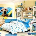 mavi renk kombinleri mavi renk yatak odası dekorasyon fikirleri - mavi yatak odasi dekorasyon22 150x150