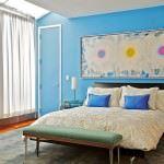 yatak odanıza modern farklı dekorasyon fikirleri - mavi yatak odasi dekoru 150x150 - Yatak Odanıza Modern Farklı Dekorasyon Fikirleri