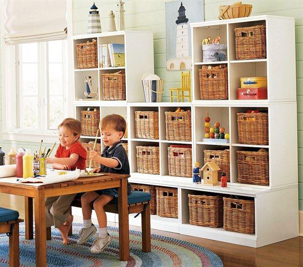 çocuk odası raf sistemleri