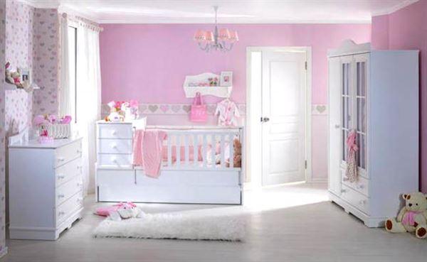 bebek-odasi-mobilyalari bebek odası yeni tasarım modelleri - meltem beyaz bebek odasi - Bebek Odası Yeni Tasarım Modelleri