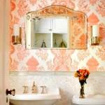 mercan-rengi-banyo-duvar-kagidi