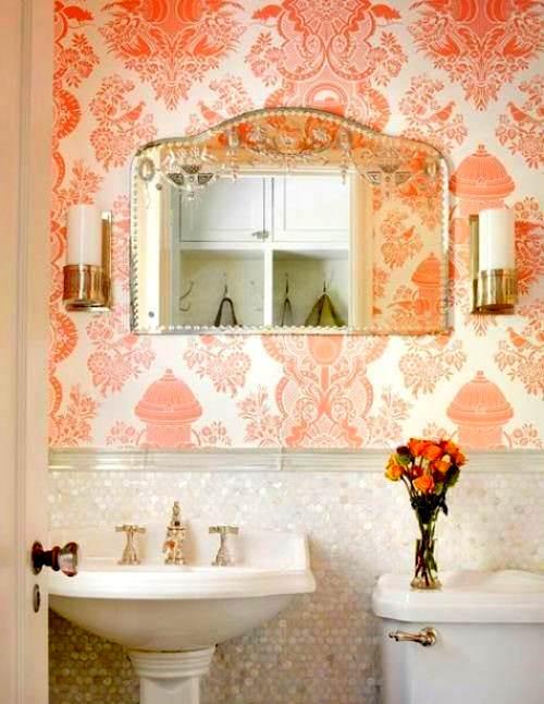 banyo için duvar kağıt olur mu