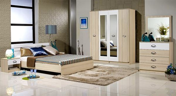 Merinos Yeni Tasarım Yatak Odası Modelleri 3