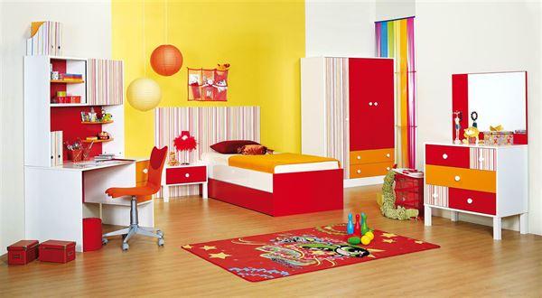 merinos genç odası modelleri - merinos genc odasi cocuk odasi kirmizi