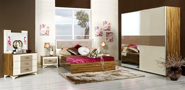 Merinos Yeni Tasarım Yatak Odası Modelleri 5