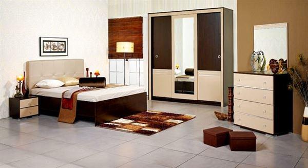 Merinos Yeni Tasarım Yatak Odası Modelleri 6