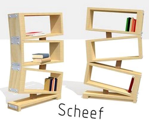 Modern Yeni Tasarım Kitaplık Modelleri 10