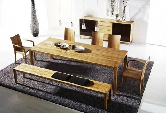Modern Yemek Masası Ve Sandalye Modelleri 12