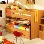 Kabinli Çocuk Odası Yatak Modelleri 5