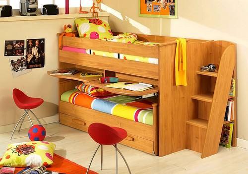 Kabinli Çocuk Odası Yatak Modelleri 4