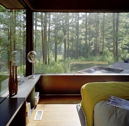 Doğal Ağaçlar Arasında Modern Ev Tasarımı 3