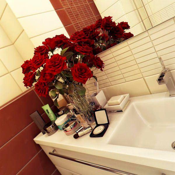 Ultra Lüks Dekorasyonlu Banyo Örnekleri 18
