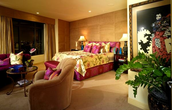 Ultra Suit Tarzı Yatak Odası Dekorasyonları 7