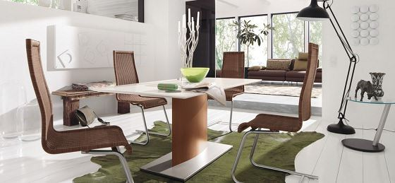Modern Yemek Masası Ve Sandalye Modelleri 15