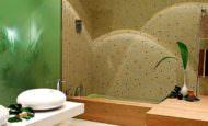 Modern Lüks Banyo Dekorasyon Modeli