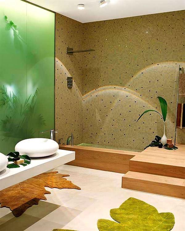 Modern Lüks Banyo Dekorasyon Modeli 7