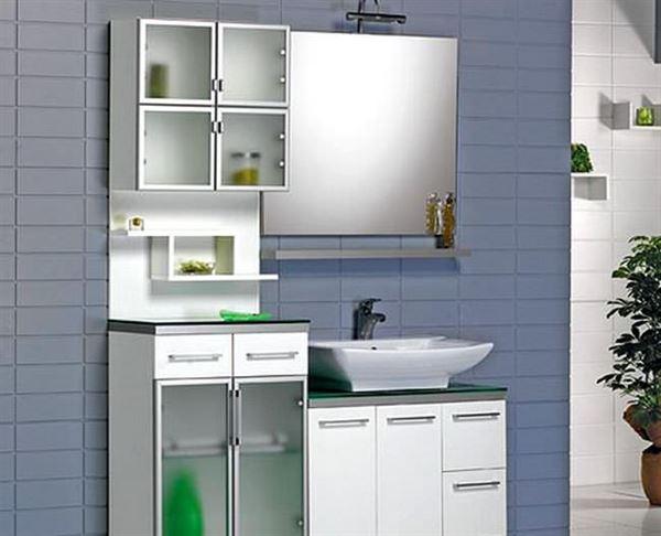 Ahşap Banyo Dolap Modelleri Ve Renkleri 5
