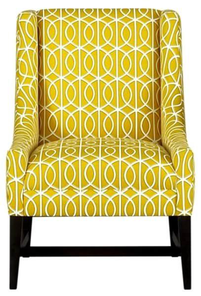sarı desenli berjer
